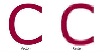 Difference of Raster vs. Vector